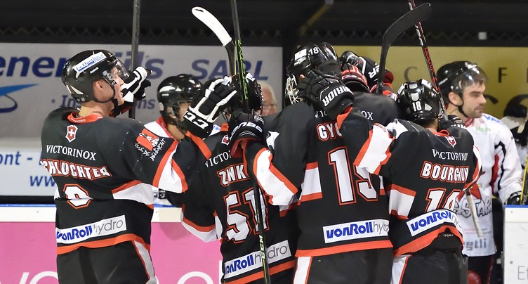 Le HC Delémont-Vallée en demi-finale