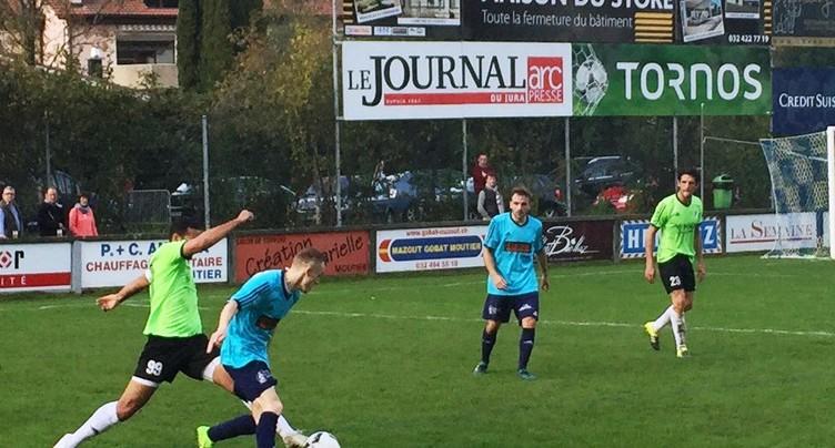 Le FC Moutier muet devant son public