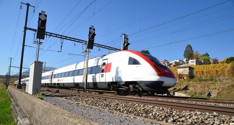Les trains sont de retour sur la ligne Moutier-Delémont