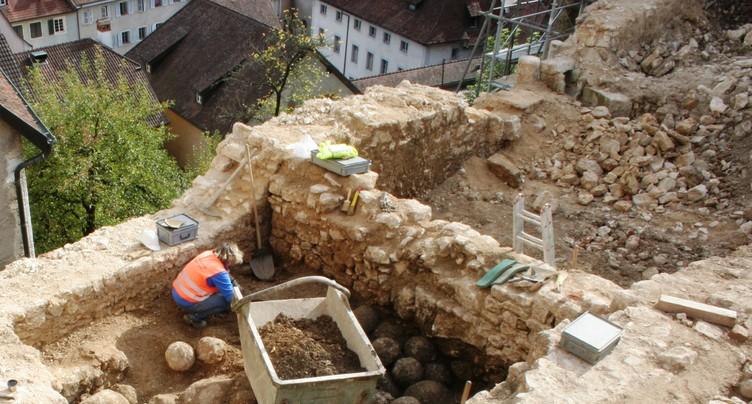 Les boulets de Porrentruy feront l'objet d'une curiosité touristique