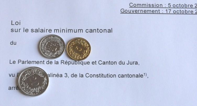 Un salaire minimum à 19.25 ou 20 francs de l'heure ?
