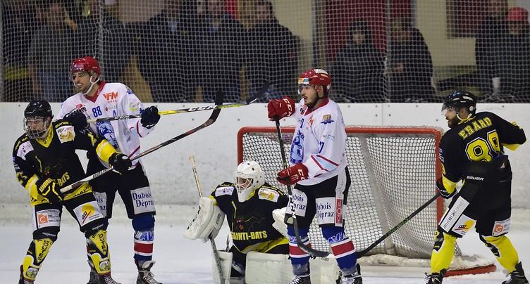Le HC St-Imier ramène trois points d'Yverdon