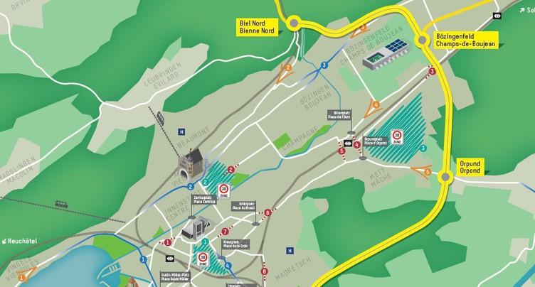 Contournement de Bienne : de nouvelles règles du trafic routier