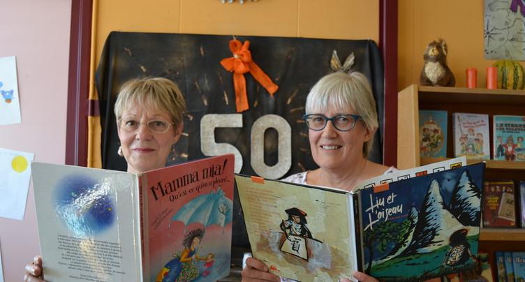 50 ans de littérature enfantine à Fontainemelon