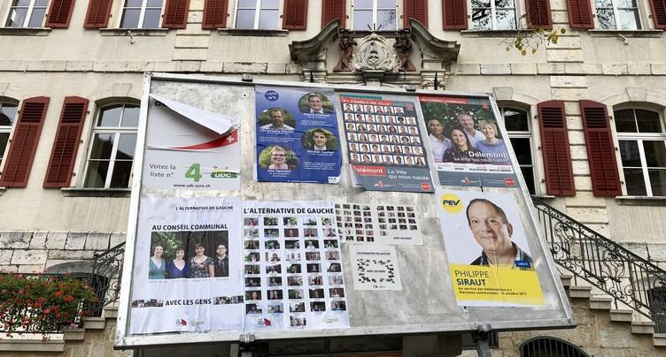Delémont: la gauche majoritaire au conseil communal