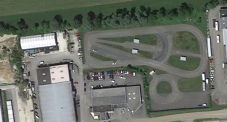 La piste de conduite de Develier reprise par une société bâloise