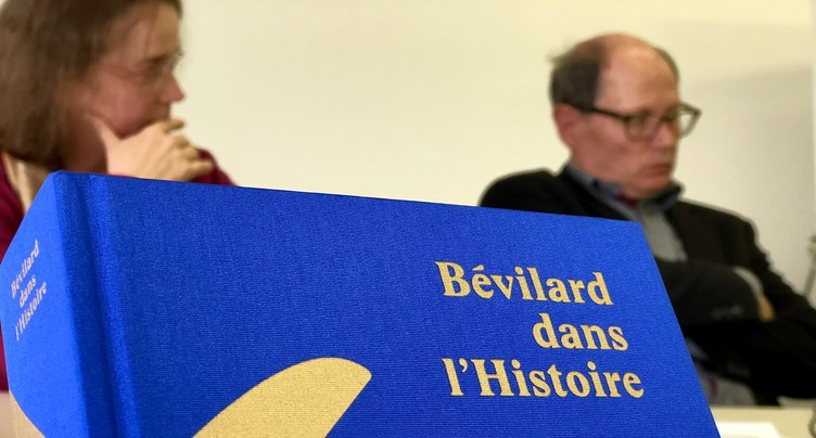 Un livre d'histoire pour Bévilard