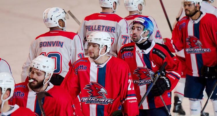 Nouvelle défaite du HC Uni contre Star Forward