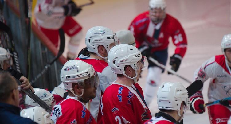 Le HC Uni perd en fin de match contre Coire