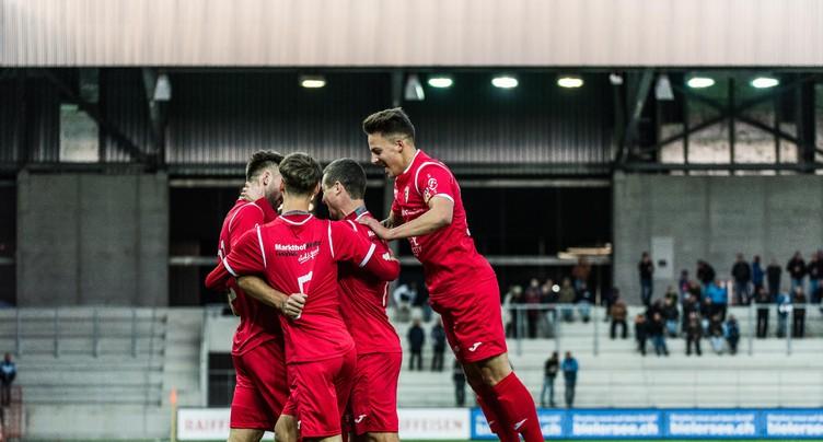 Le FC Bienne avec les Jurassiens en 1re Ligue