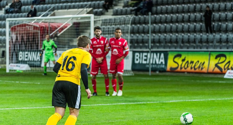 Le FC Bienne sort le FC Tavannes/Tramelan