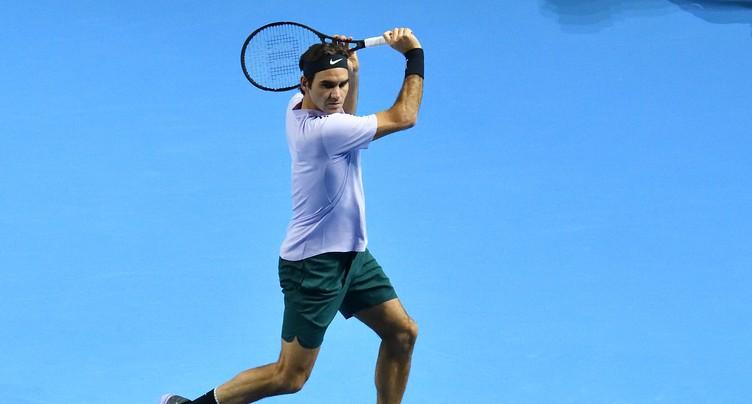 Roger Federer reçu trois sur trois à Londres
