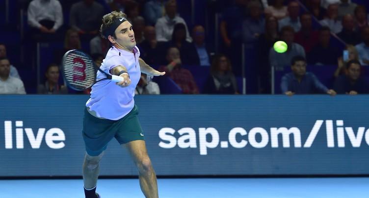 Qualification en poche pour Roger Federer