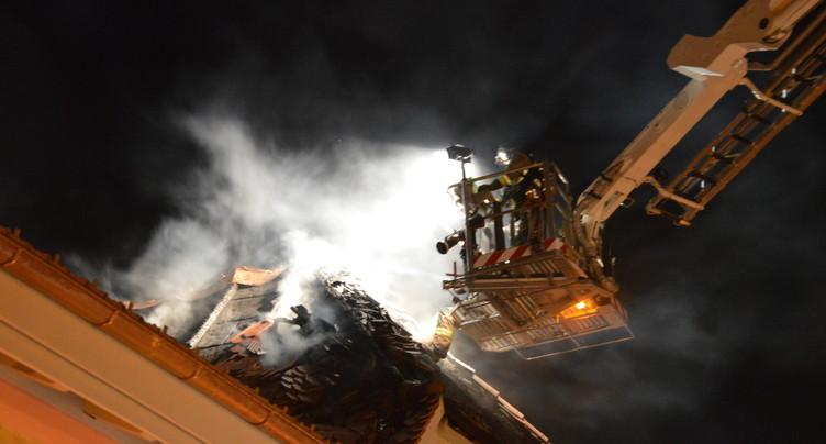 Nouvel incendie à la Neuveville