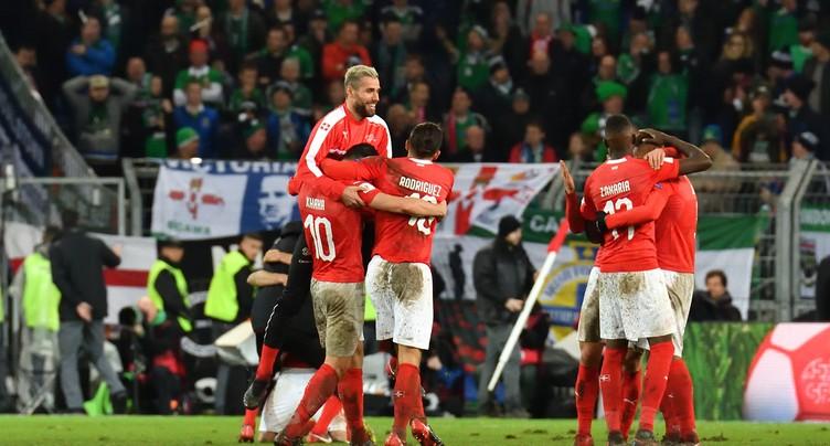 La Suisse face à l'Espagne en amical