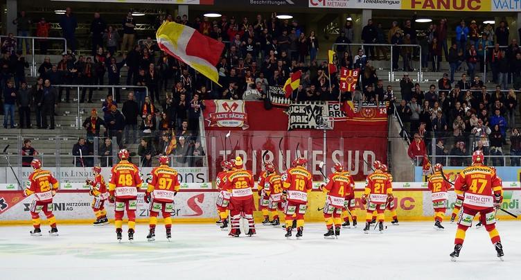 Le HC Bienne terrasse le CP Berne