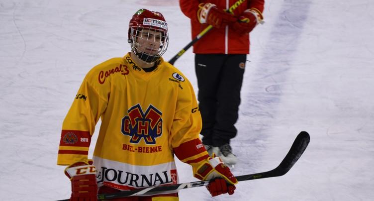 Les rêves de NHL de Valentin Nussbaumer