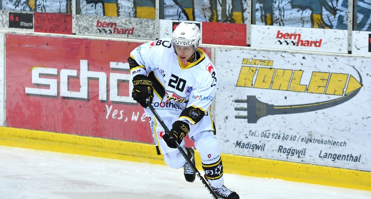 Thomas Devesvre quitte le HC Ajoie