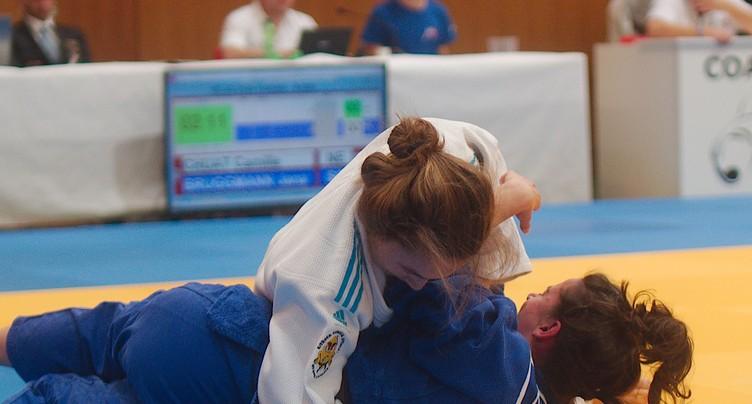 Les dames du Judo Club Bienne-Nidau en chocolat
