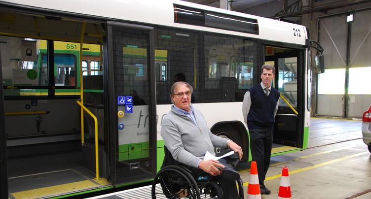 Concilier au mieux transports publics et mobilité réduite