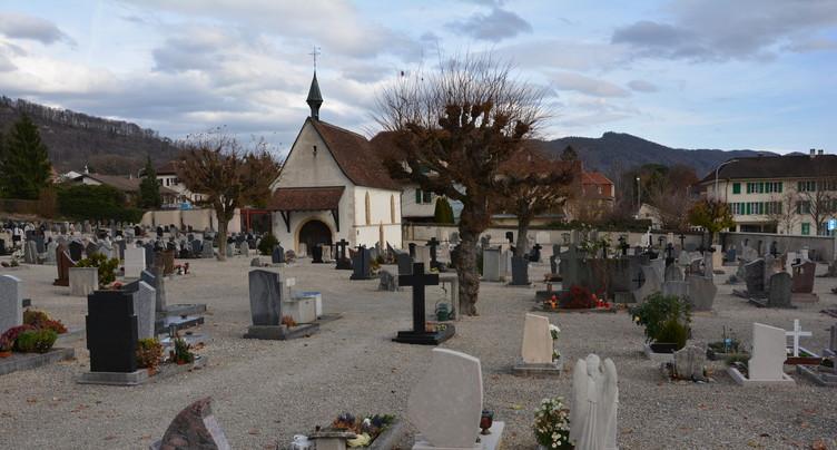 L'heure des travaux a sonné au cimetière de Delémont