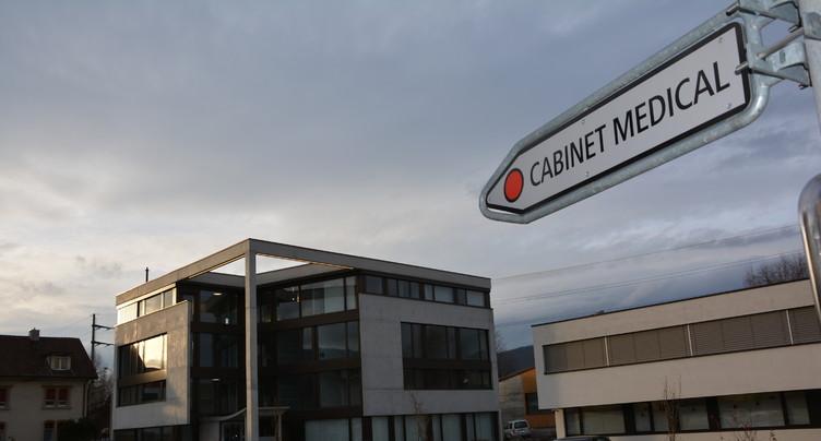 Nouveau cabinet médical à Delémont