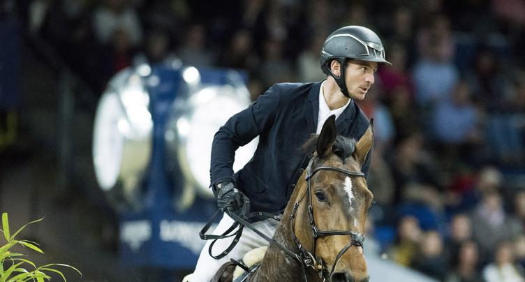 Steve Guerdat aux Jeux équestres mondiaux