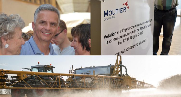 Glyphosate, Moutier et Didier Burkhalter