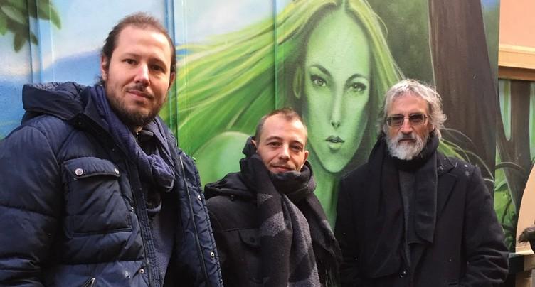 Inauguration des fresques du Neubourg