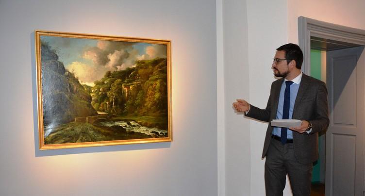 Le tableau de Courbet se dévoile au public, mais garde son mystère