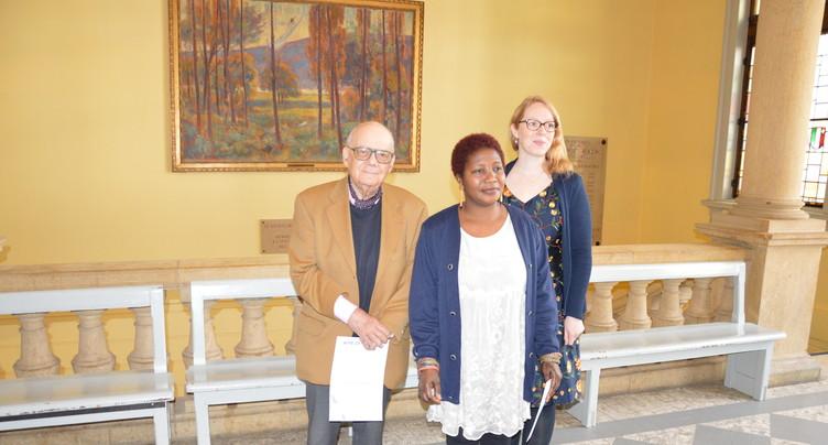 Trois lauréats récompensés par le prix Salut l'étranger