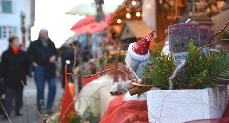 Le Marché de Noël de Delémont de retour en Vieille Ville