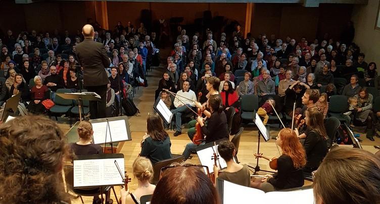 Concert de soutien pour la Haute école de musique