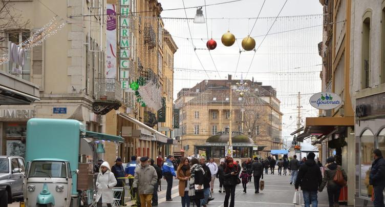 Journée shopping dans le canton de Neuchâtel