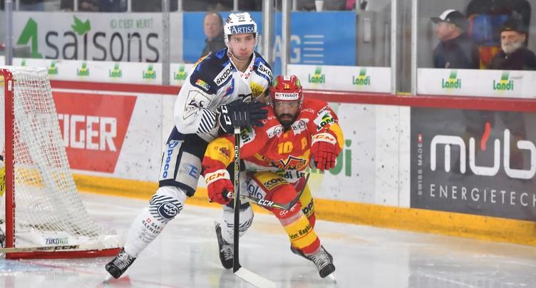 Le HC Bienne gagne au Tessin
