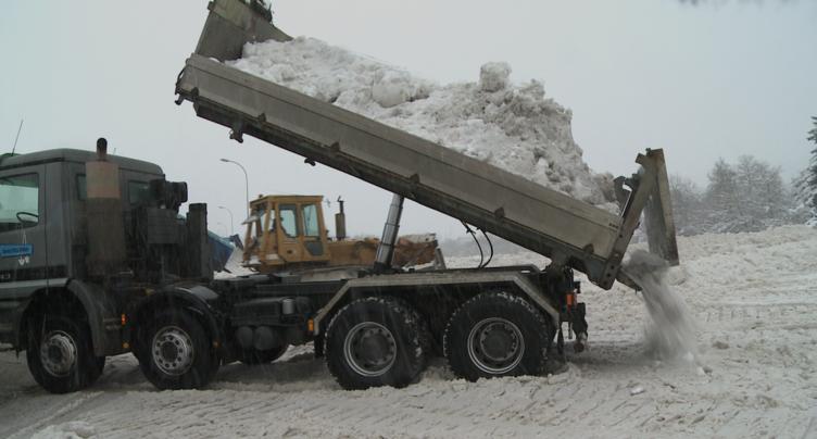 Déjà plus de neige à La Chaux-de-Fonds que l'hiver passé