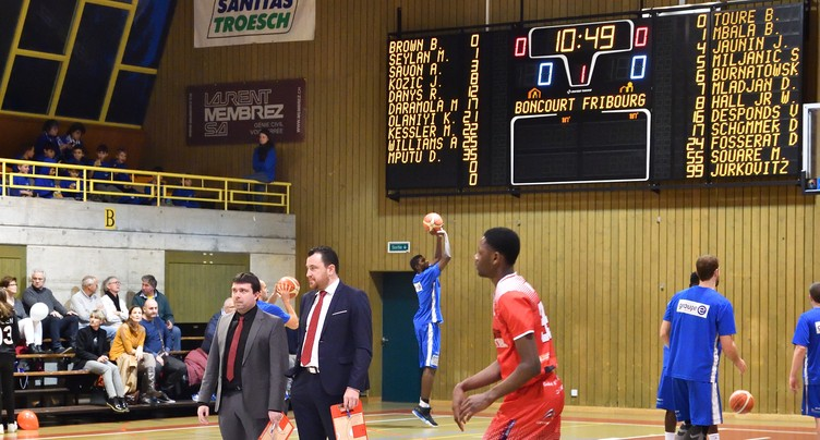 BC Boncourt - Fribourg Olympic