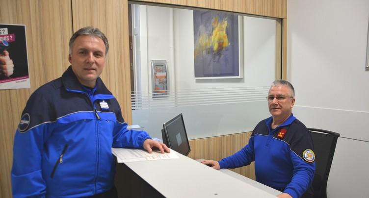 Bilan «  très positif  » pour le poste de police de la gare de Delémont