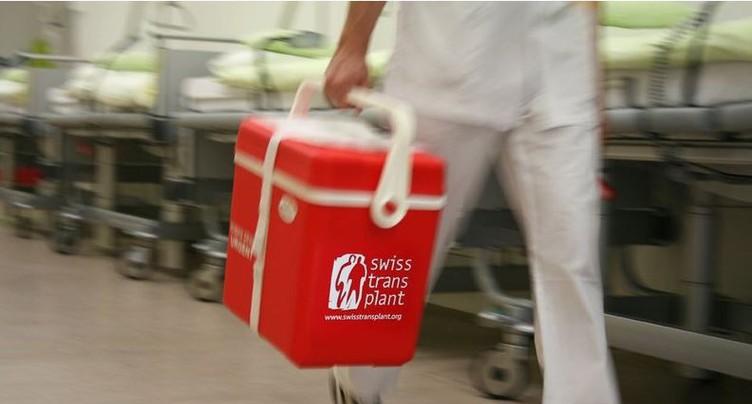 Le nombre de donneurs d'organe progresse lentement en Suisse