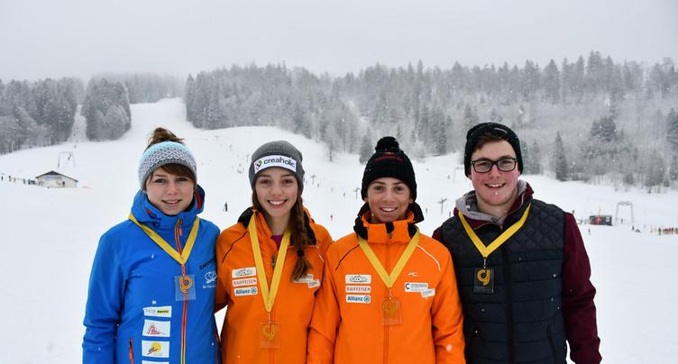 Le sacre des champions jurassiens de slalom