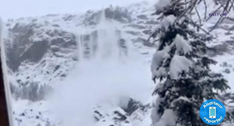 Ils filment une avalanche à Zermatt