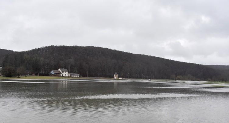 Le Jura touché par les pluies