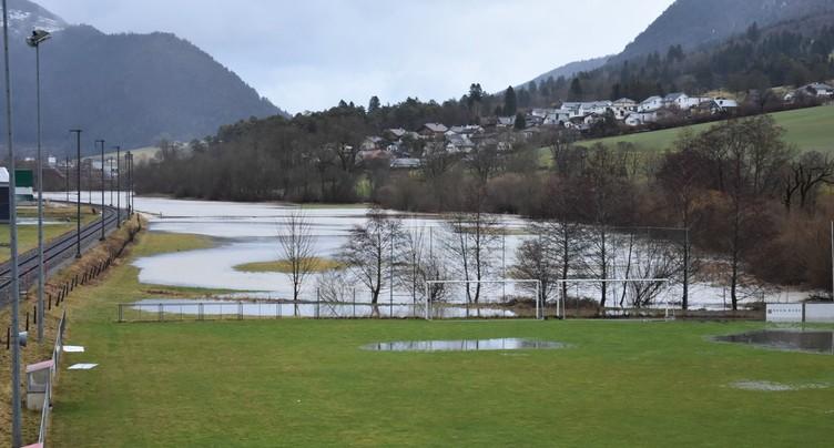 Les rivières débordent dans le Jura bernois