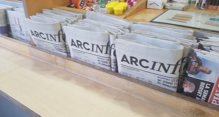 Les Neuchâtelois découvrent Arcinfo