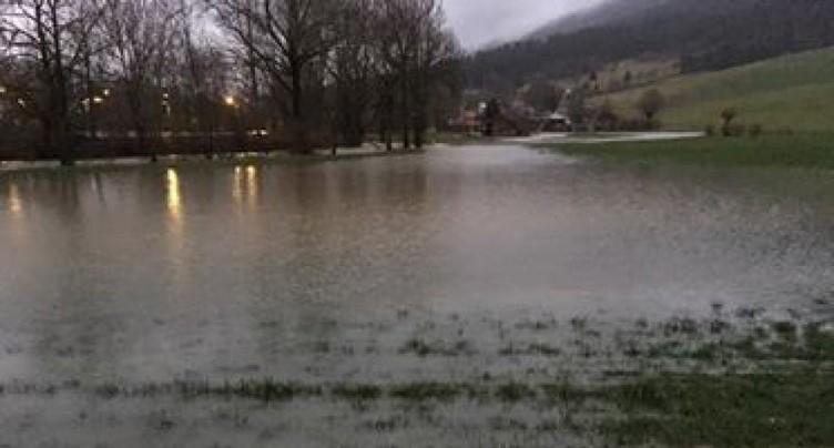 Vos images des crues dans le Jura bernois et à Bienne