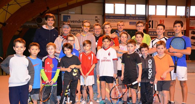 La Coupe Davis à Delémont