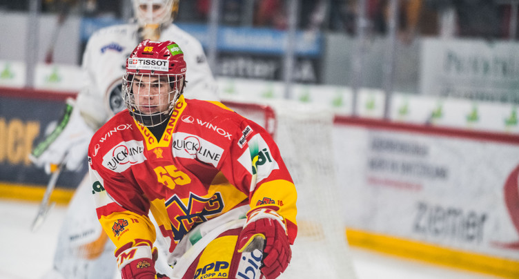 Valentin Nussbaumer patinera avec le HCA mercredi