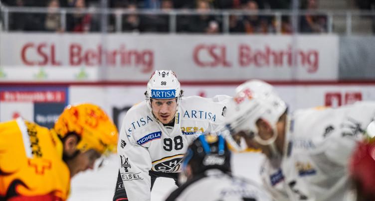 Damien Brunner au HC Bienne