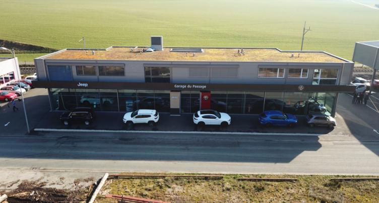 Le Garage du Passage à Courtételle renaît de ses cendres et réunit sous le même toit: Alfa Romeo, Jeep, Fiat et Abarth!