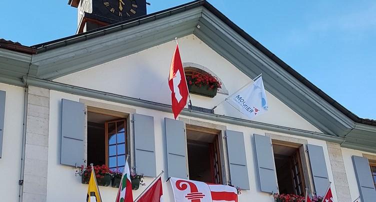 Un drapeau jurassien qui agace le PLR prévôtois